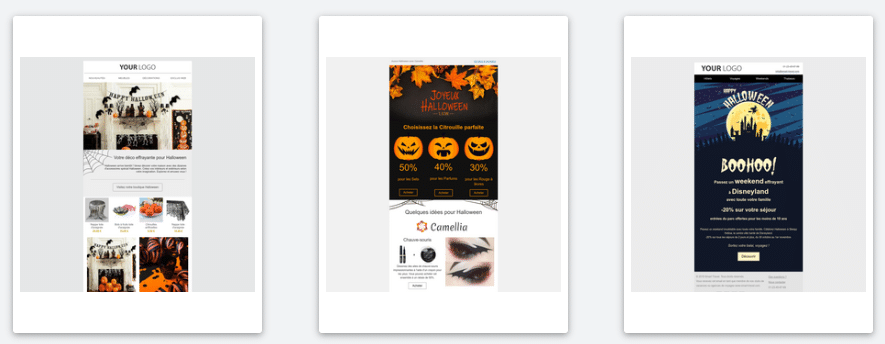 Template Halloween Express-Mailing